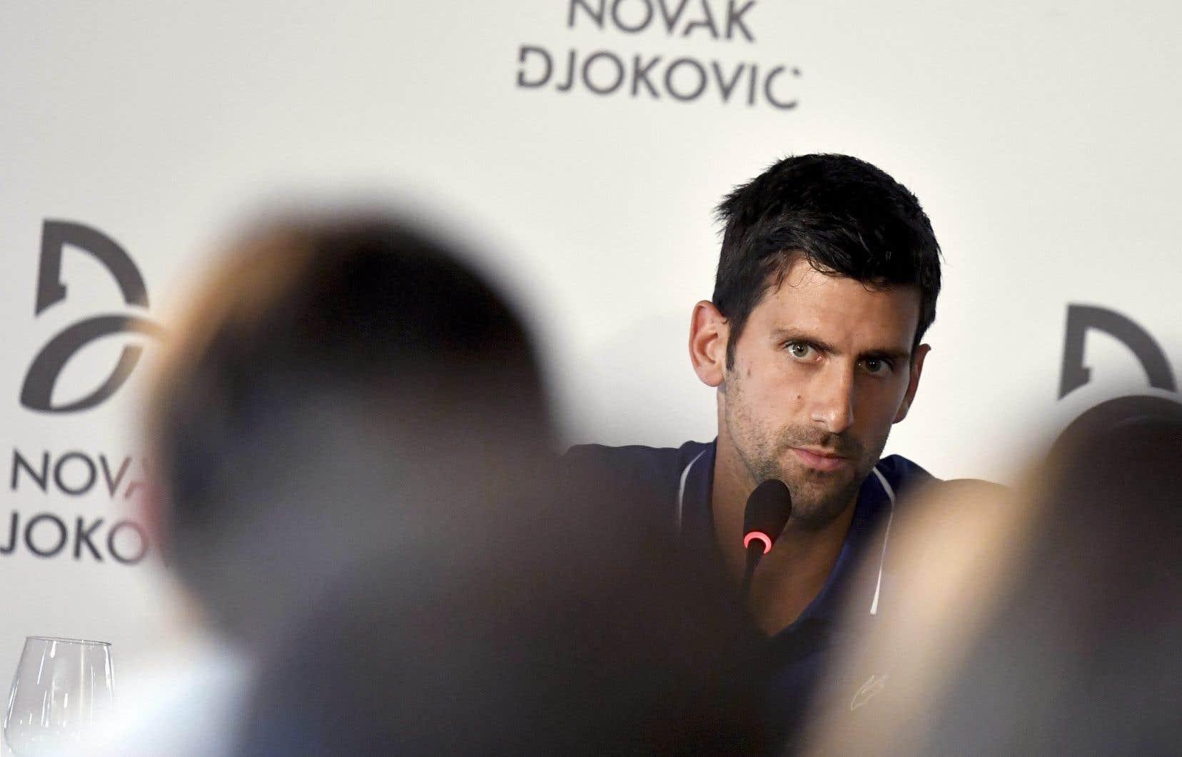 Novak Djokovic est passé en 12e place du classement de l'ATP.