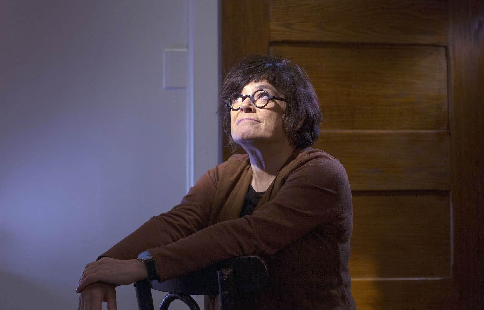 Céline Baril refuse l'étiquette de militante lorsque l'on aborde son plus récent documentaire.
