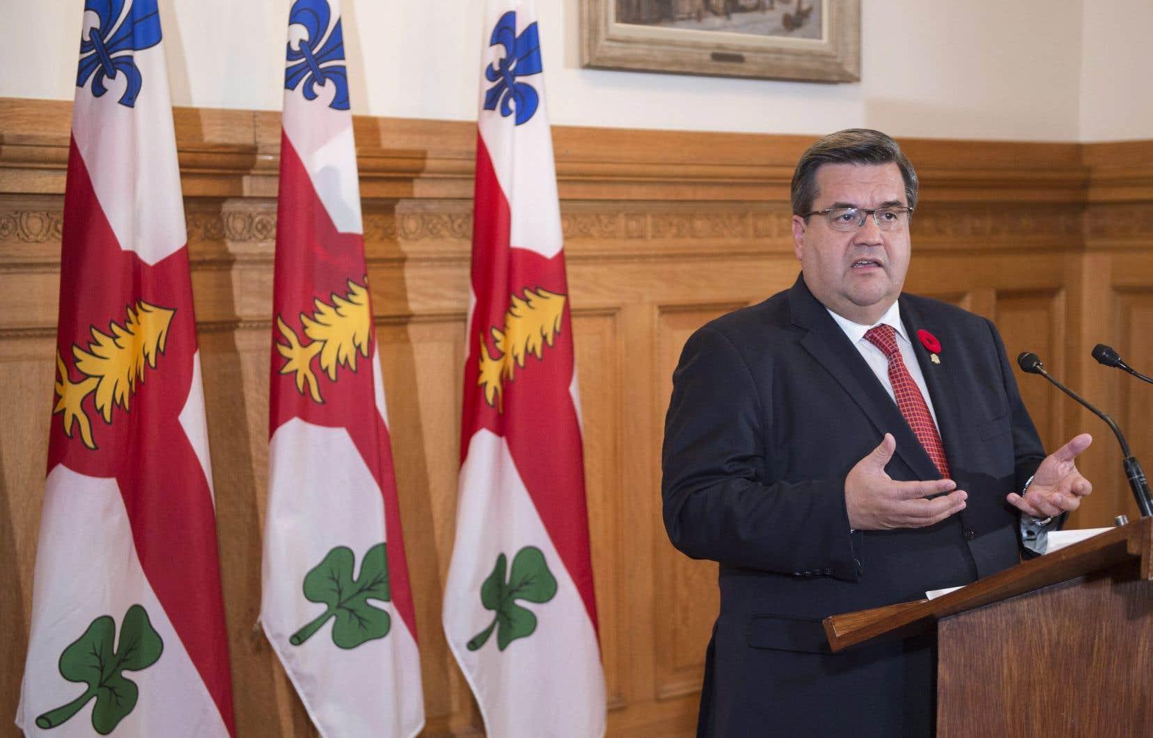 «Le rêve est toujours vivant», a déclaré Denis Coderre, malgré sa défaite à la mairie de Montréal.