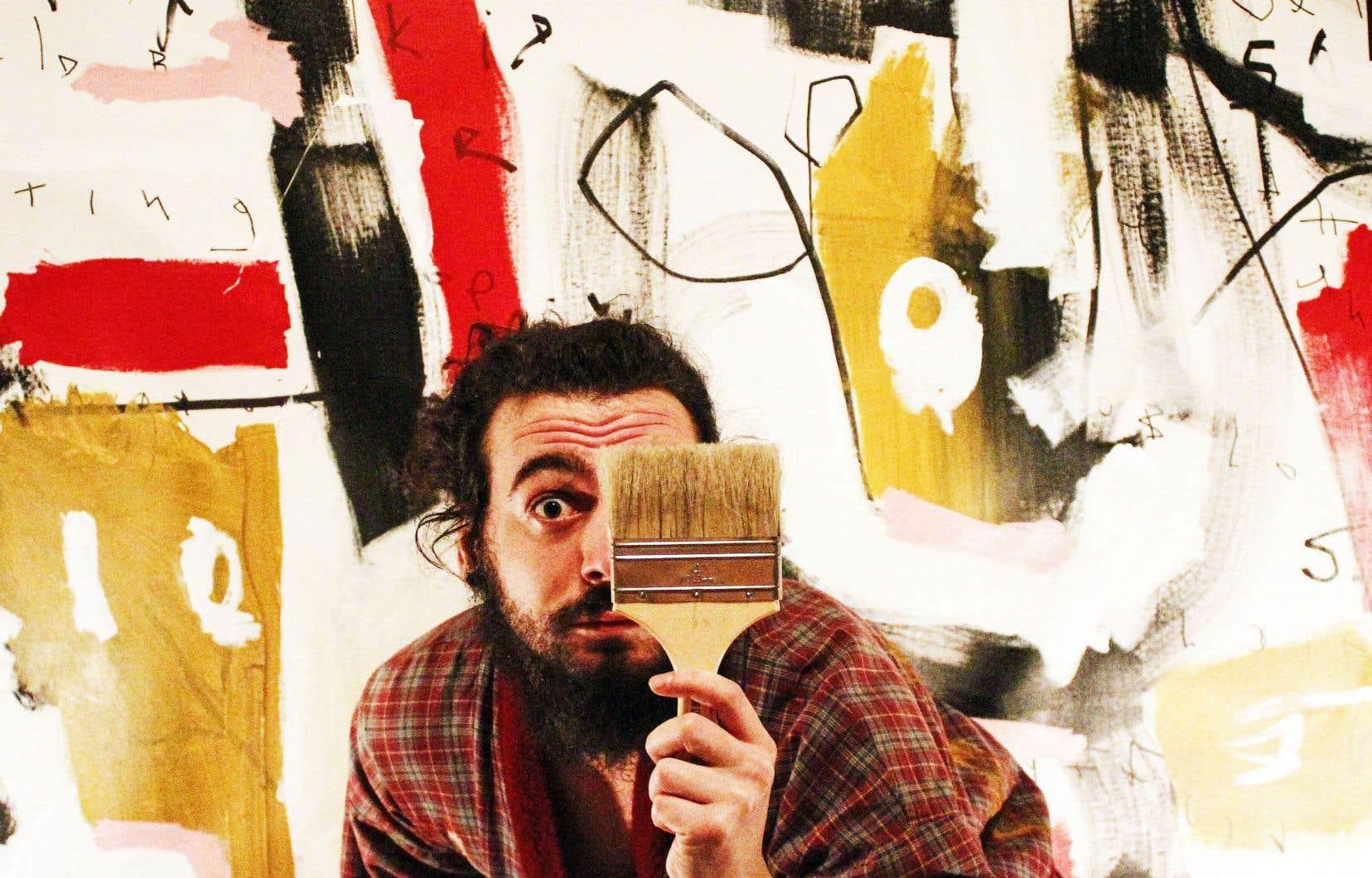 L'idée d'encan en ligne a plu aux organisateurs, qui l'ont reprise pour l'exposition de Mephisto Bates, peintre expressionniste, qui se déroulera au café Le Dîner.