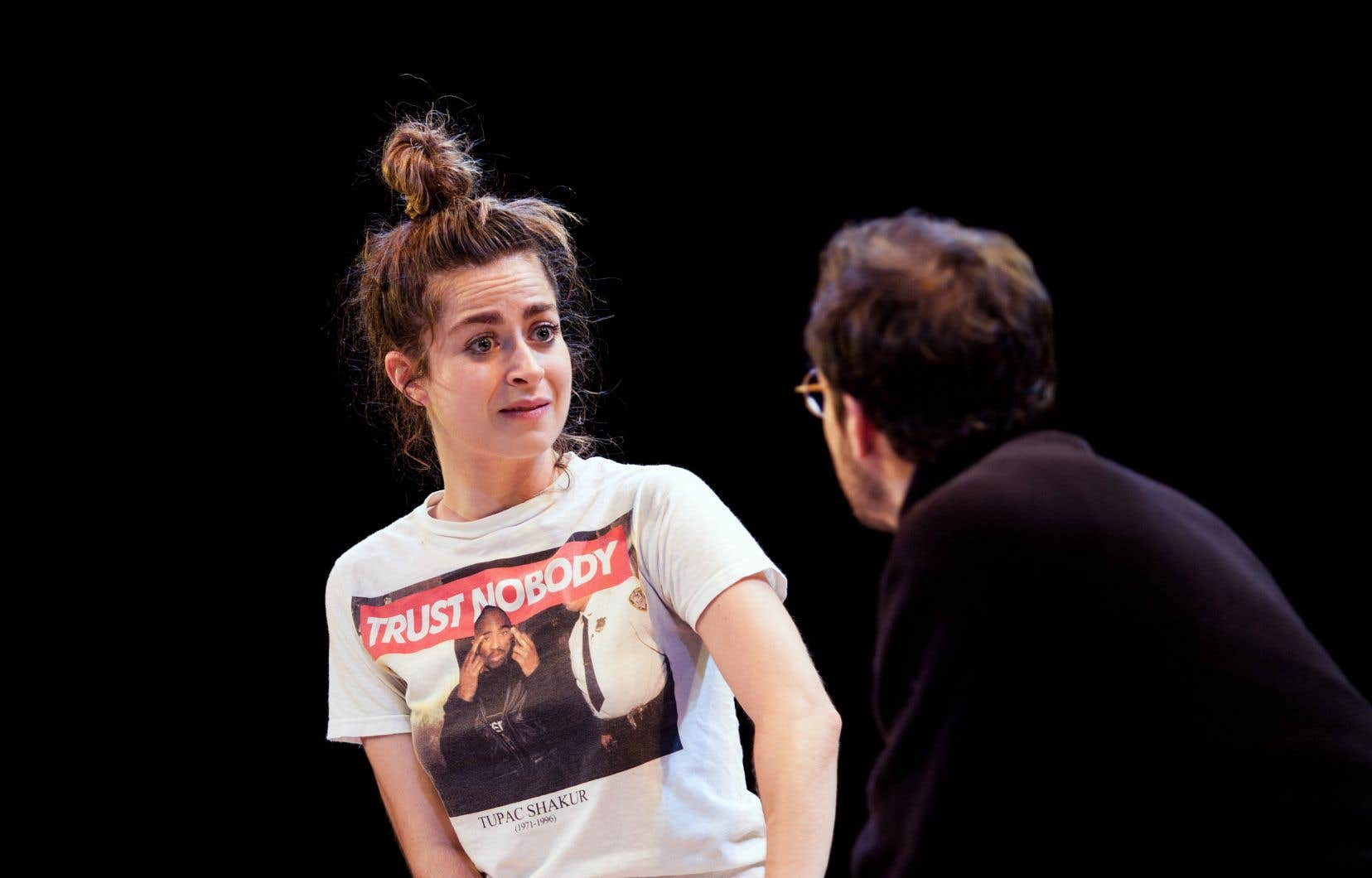 Catherine Chabot montre une femme en quête d'elle-même.