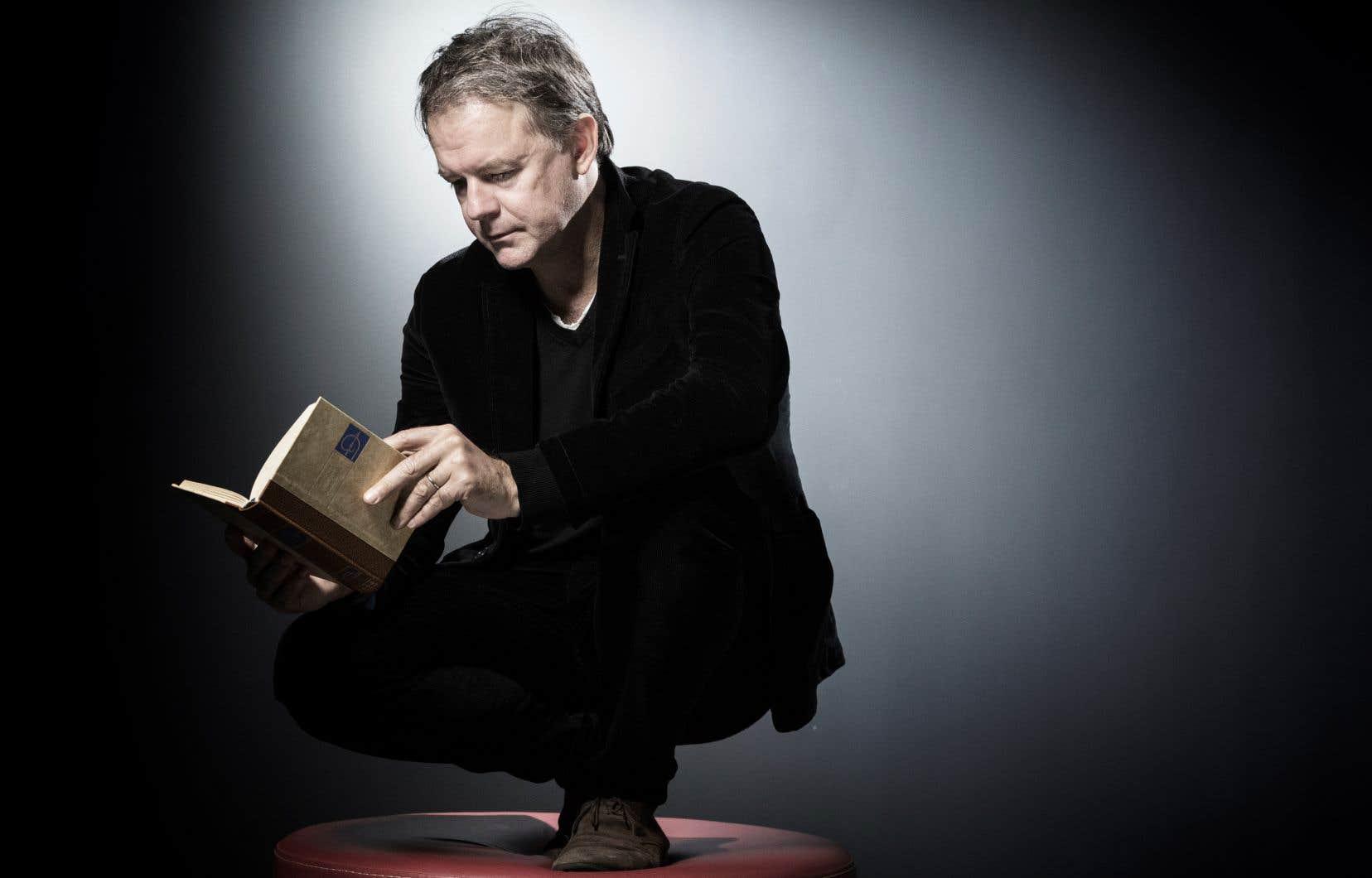 Le romancier français Yannick Haenel