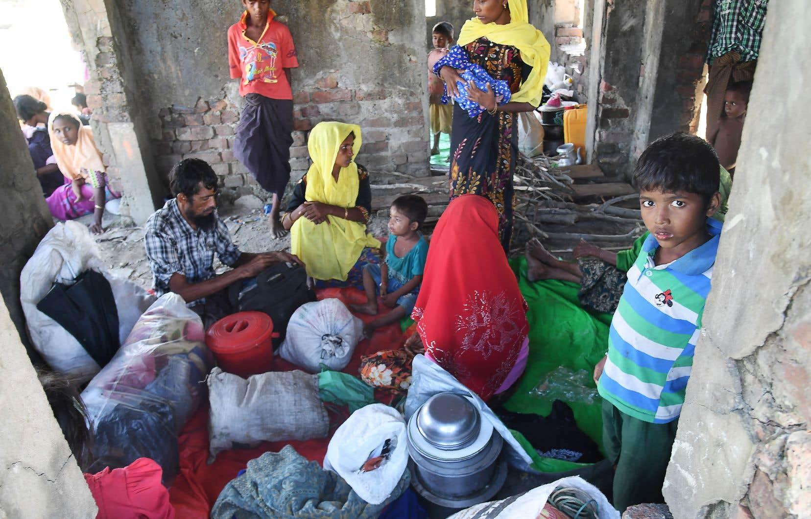 Les enfants représentent plus de la moitié des récentes arrivées de Rohingyas au Bangladesh.