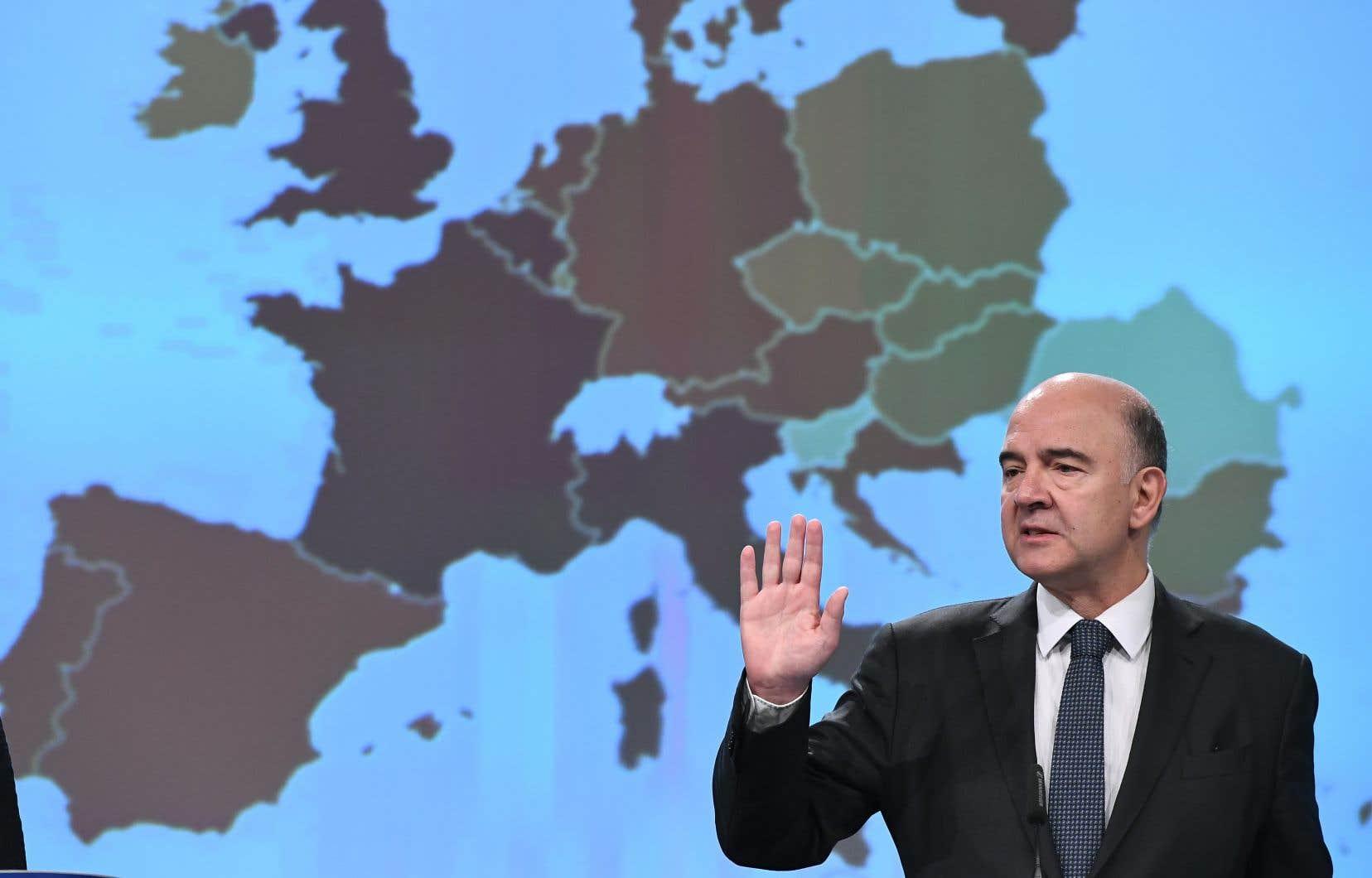«Nous ne sommes pas face à des incidents isolés, mais à des pratiques systémiques, mondiales, et organisées», a souligné le commissaire européen à la Fiscalité, Pierre Moscovici.