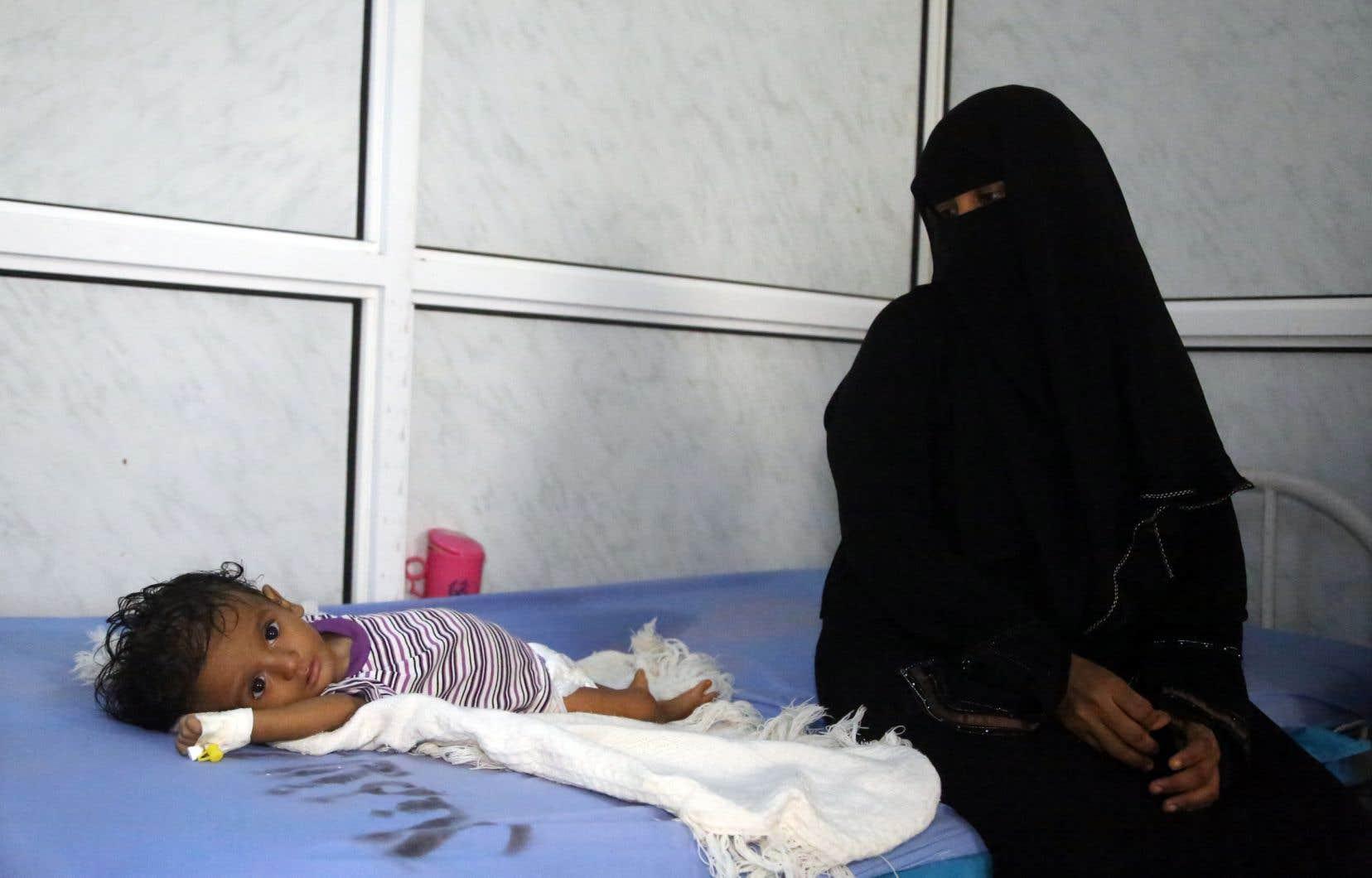Sept millions de personnes ont la faim au ventre en raison de la guerre qui balaie le pays.