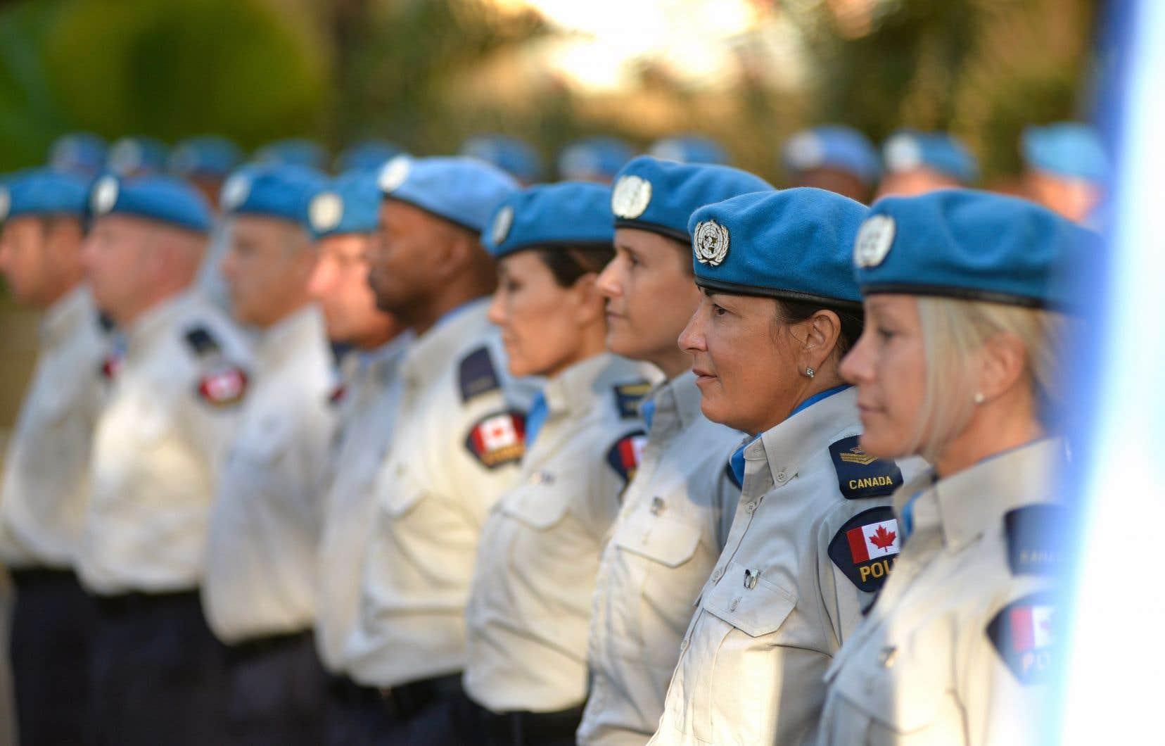 En août 2016, Justin Trudeau avait promis 600 soldats et 150 policiers dans une ou deux missions de paix de l'ONU.