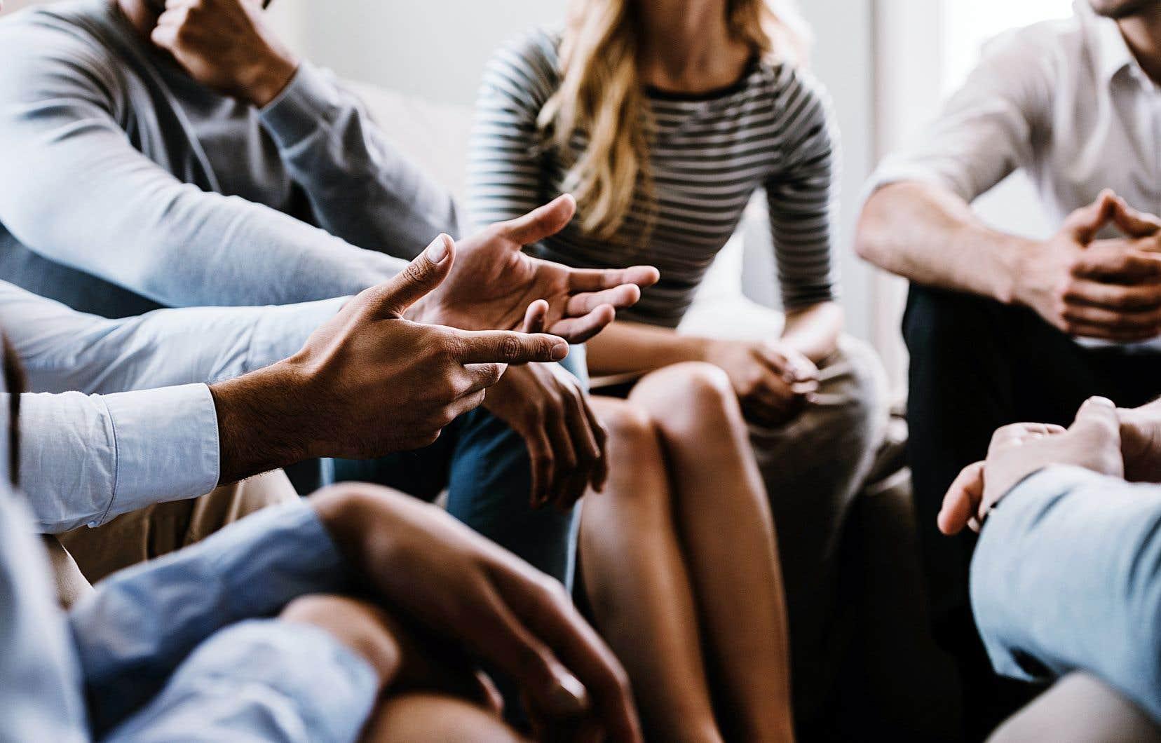 «Plus les gens débattent, plus ils réfléchissent, plus ils posent des questions, et plus ils trouvent des solutions, souvent avec éloquence», souligne le professeur de philosophie à l'UdeM Christian Nadeau.