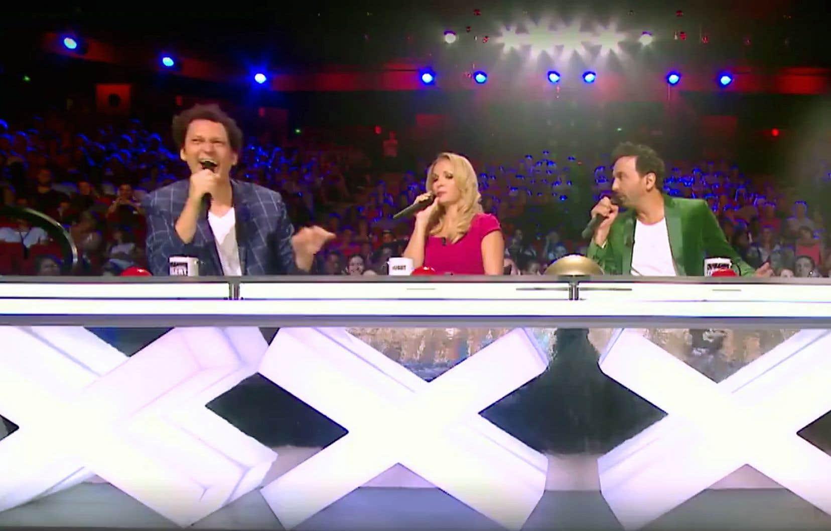 Dans une vidéo promotionnelle de l'émission «La France a un incroyable talent», où on voit les juges Éric Antoine, Hélène Ségara et Kamel Ouali, on remarque la silhouette de Gilbert Rozon en filigrane.