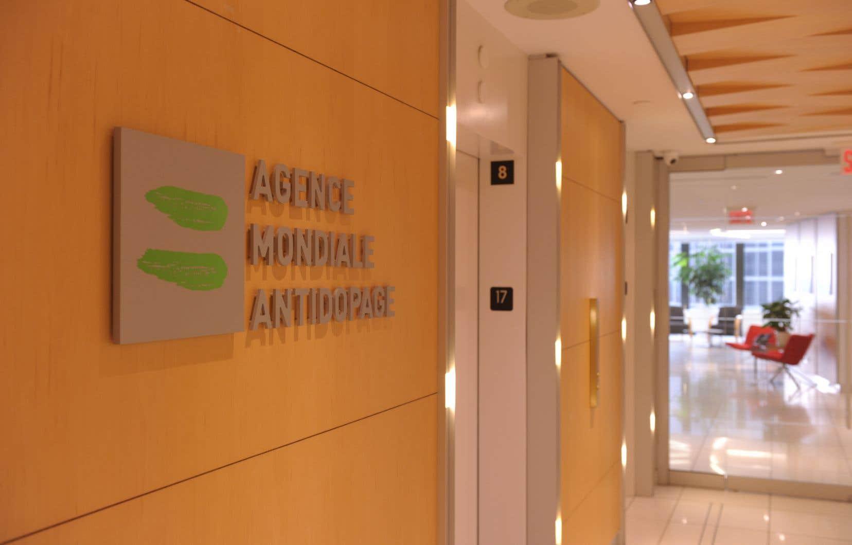 <p>Le siège social de l'AMA est installé à Montréal depuis 2001.</p>