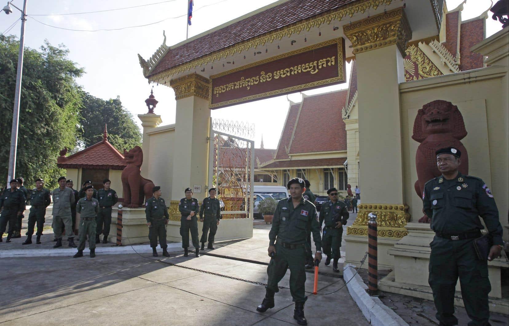 La tension est, depuis des mois, très forte dans ce pays d'Asie du Sud-Est.