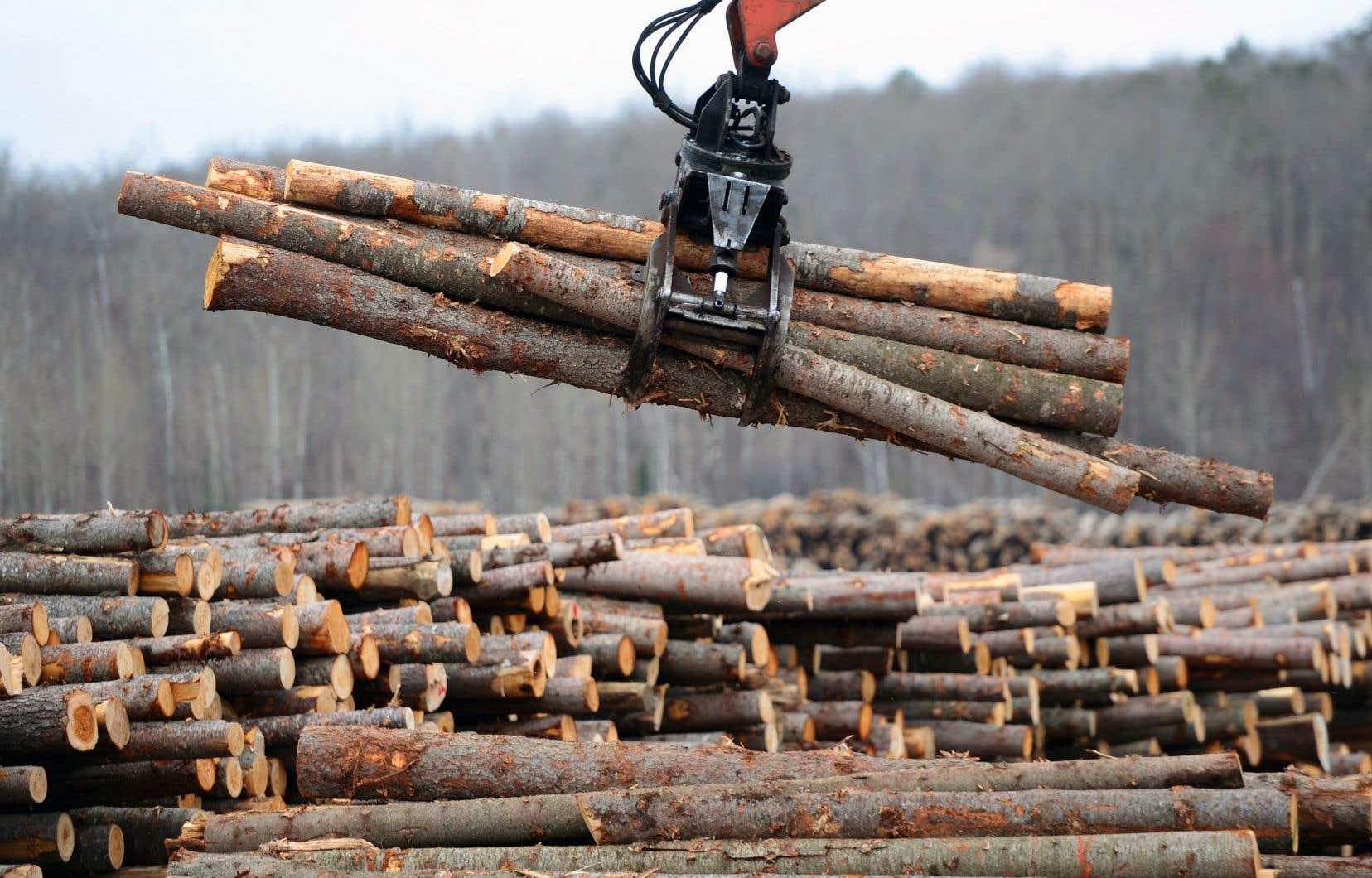 Jusqu'à présent, les producteurs canadiens de bois d'œuvre ont déjà versé environ 500millions en droits compensateurs et en droits antidumping.