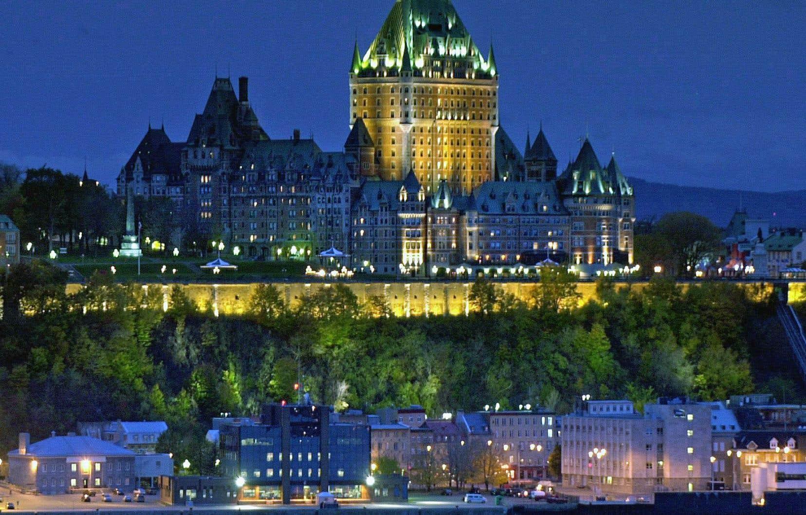 Une réplique du Château Frontenac de Québec pourrait voir le jour en Chine.