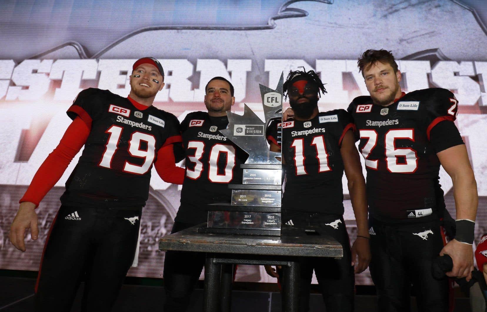 Les Stampeders ont obtenu leur billet pour la finale de la Ligue canadienne de football pour une deuxième année de suite.