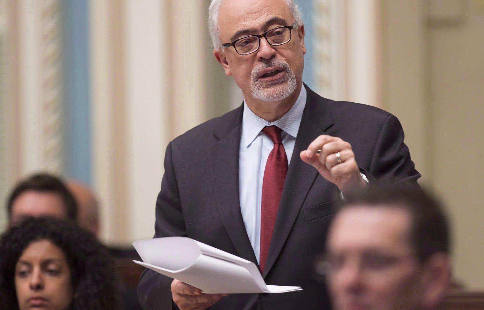 Le ministre des Finances,Carlos Leitão