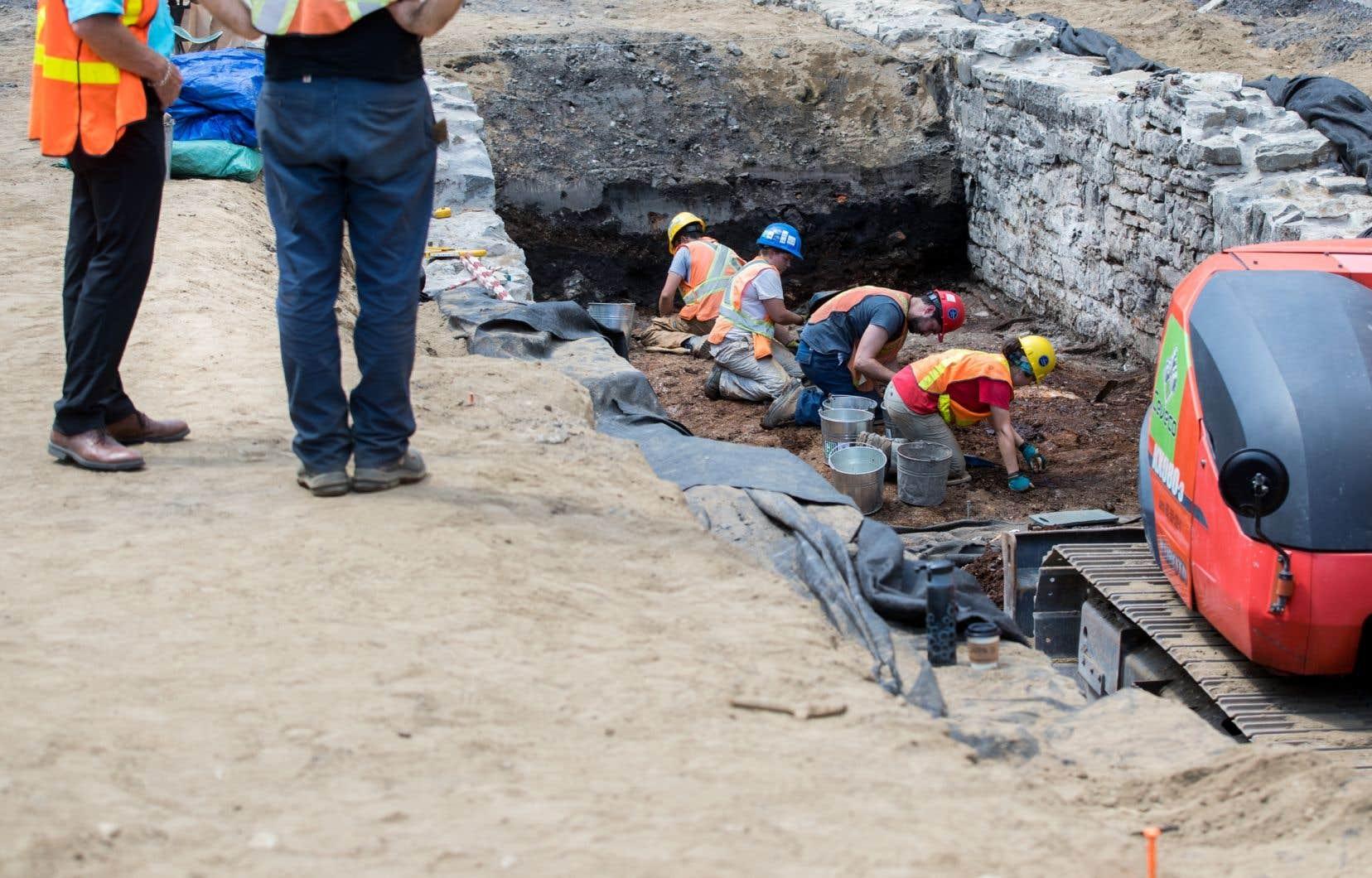 Les archéologues de Québec n'auront plus accès aux artefacts qui sont issus de leurs chantiers de fouille.<br />