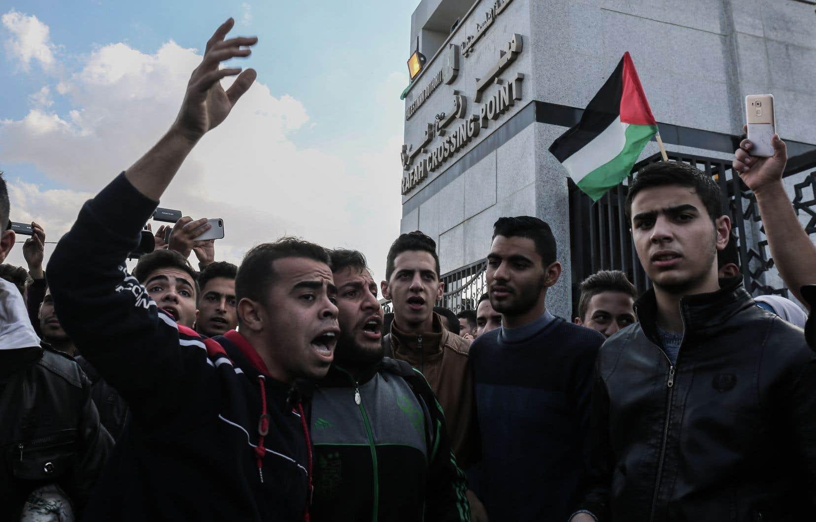Le passage frontalier de Rafah, entre l'Égype et la bande de Gaza, a été ouvert durant trois jours au début de la semaine, une première depuis 2007.