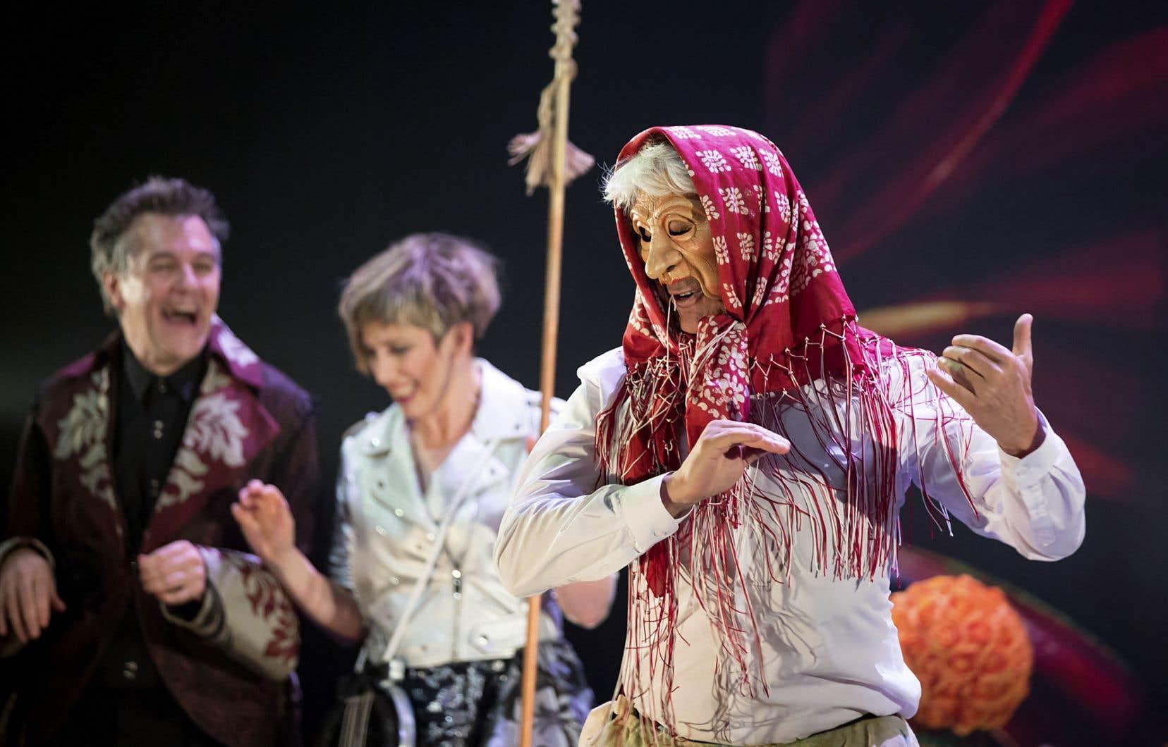 Comme pour la renaissance Rameau en France, la danse contemporaine s'invite dans l'opéra baroque.