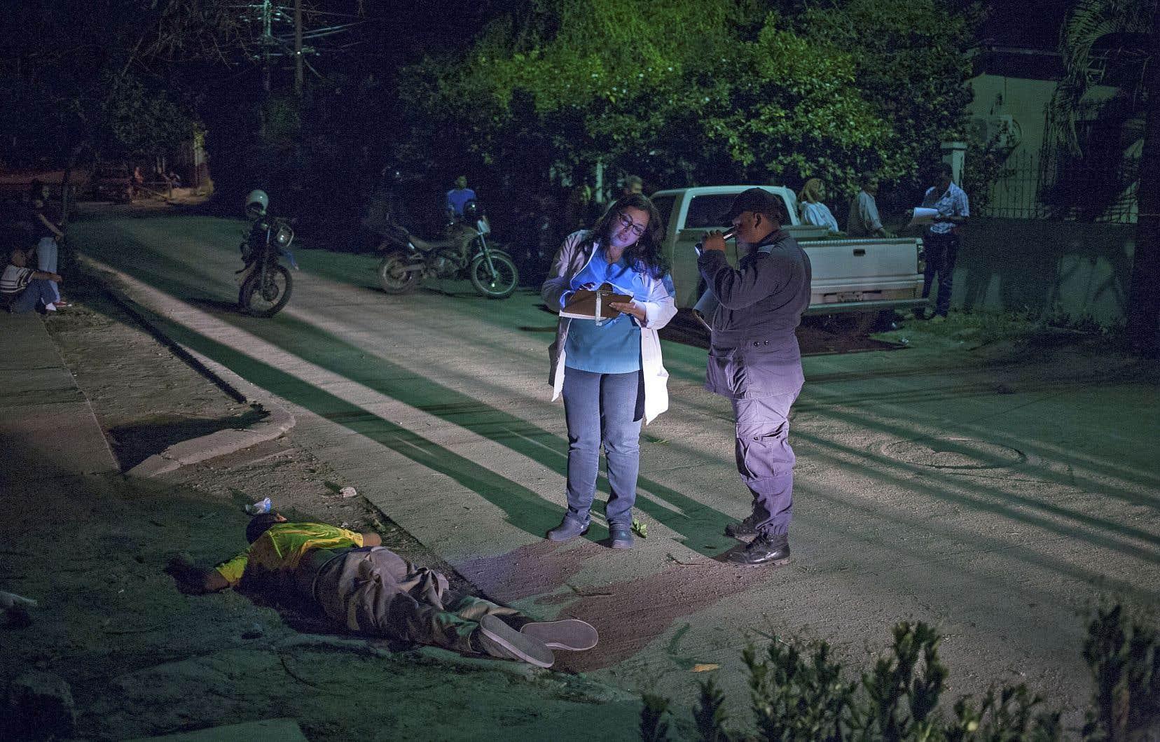 Au Honduras, le taux d'homicide est plus de 30 fois supérieur à celui du Canada.