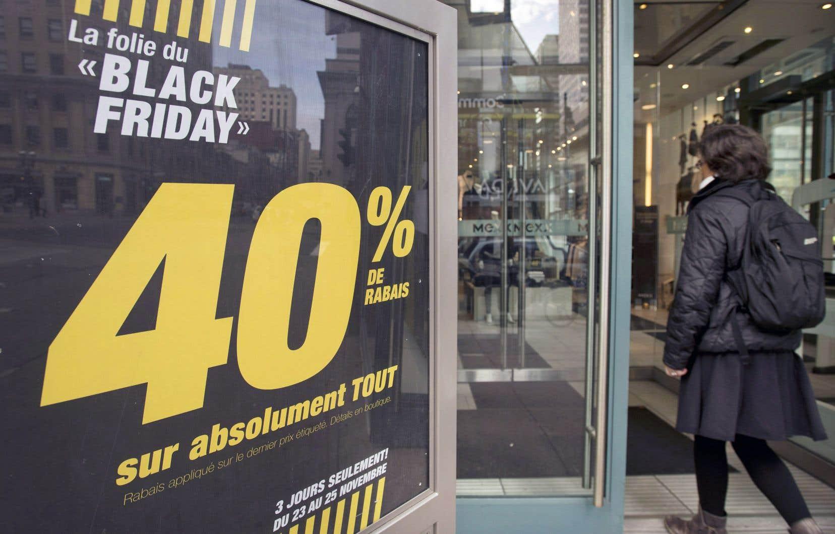 L'Observatoire de la consommation responsable (OCR) a profité de l'excitation du «Black Friday» pour dévoiler son huitième baromètre sur la manière dont consomment les Québécois.