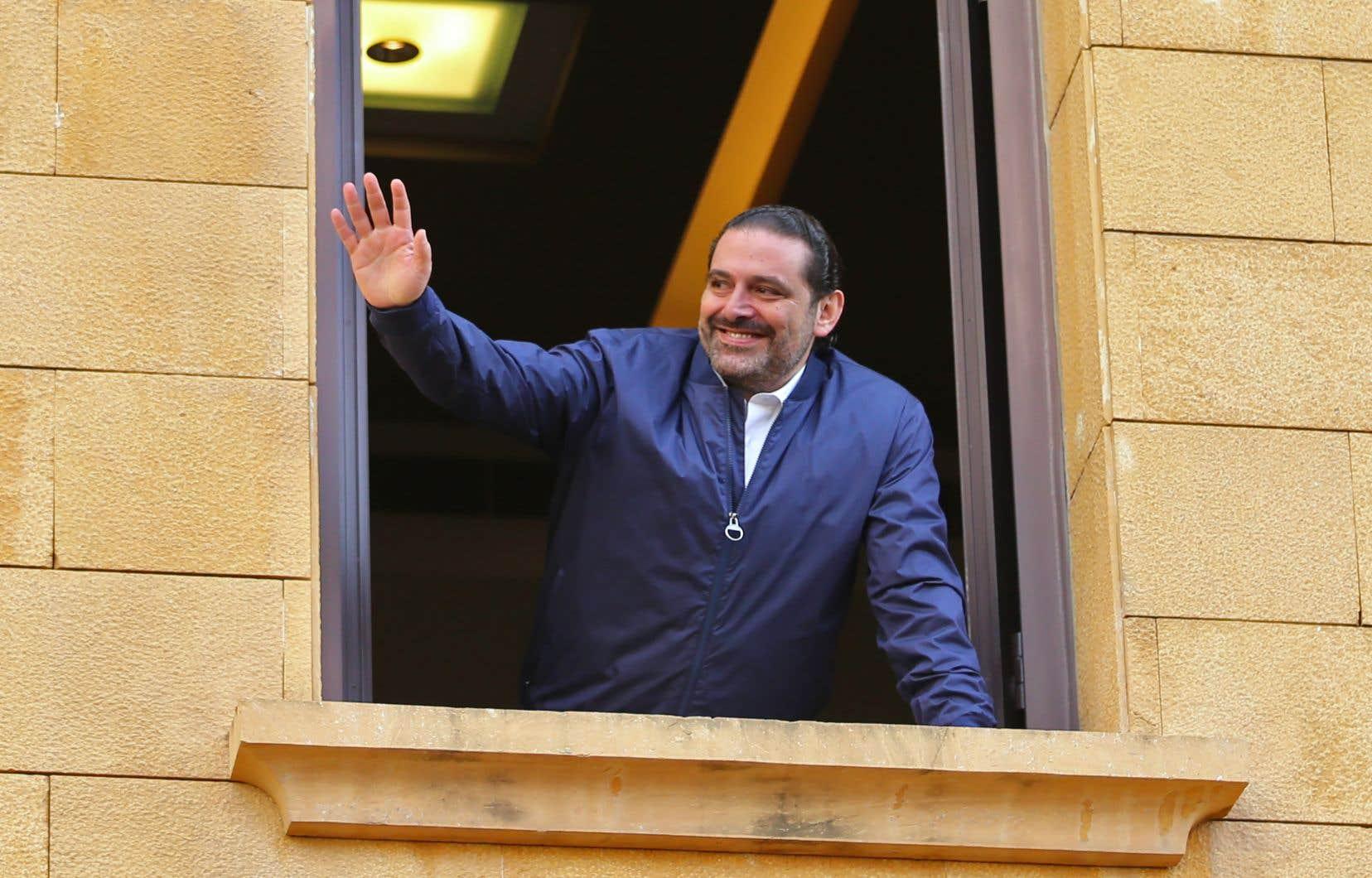 Le premier ministreSaad Hariri est finalement rentré au Liban la semaine dernière.