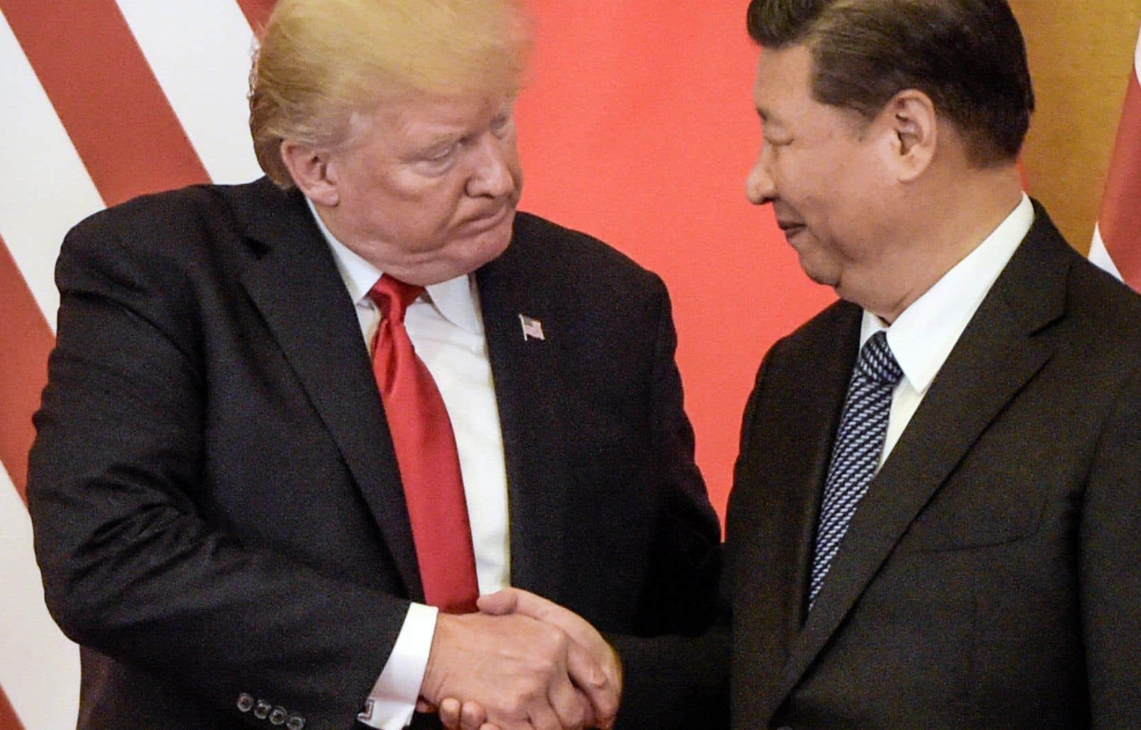 Donald Trump entretient de bonnes relations avec Xi Jinping, et avait estimé à son retour à Washington que les discussions sur la Corée du Nord avaient été concluantes.