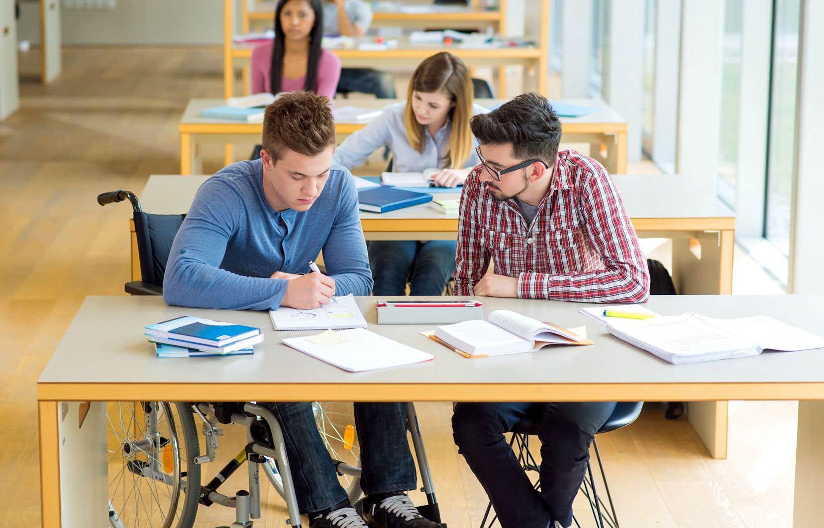 En cinq ans, le nombre d'étudiants en situation de handicap a triplé à l'UQAM.