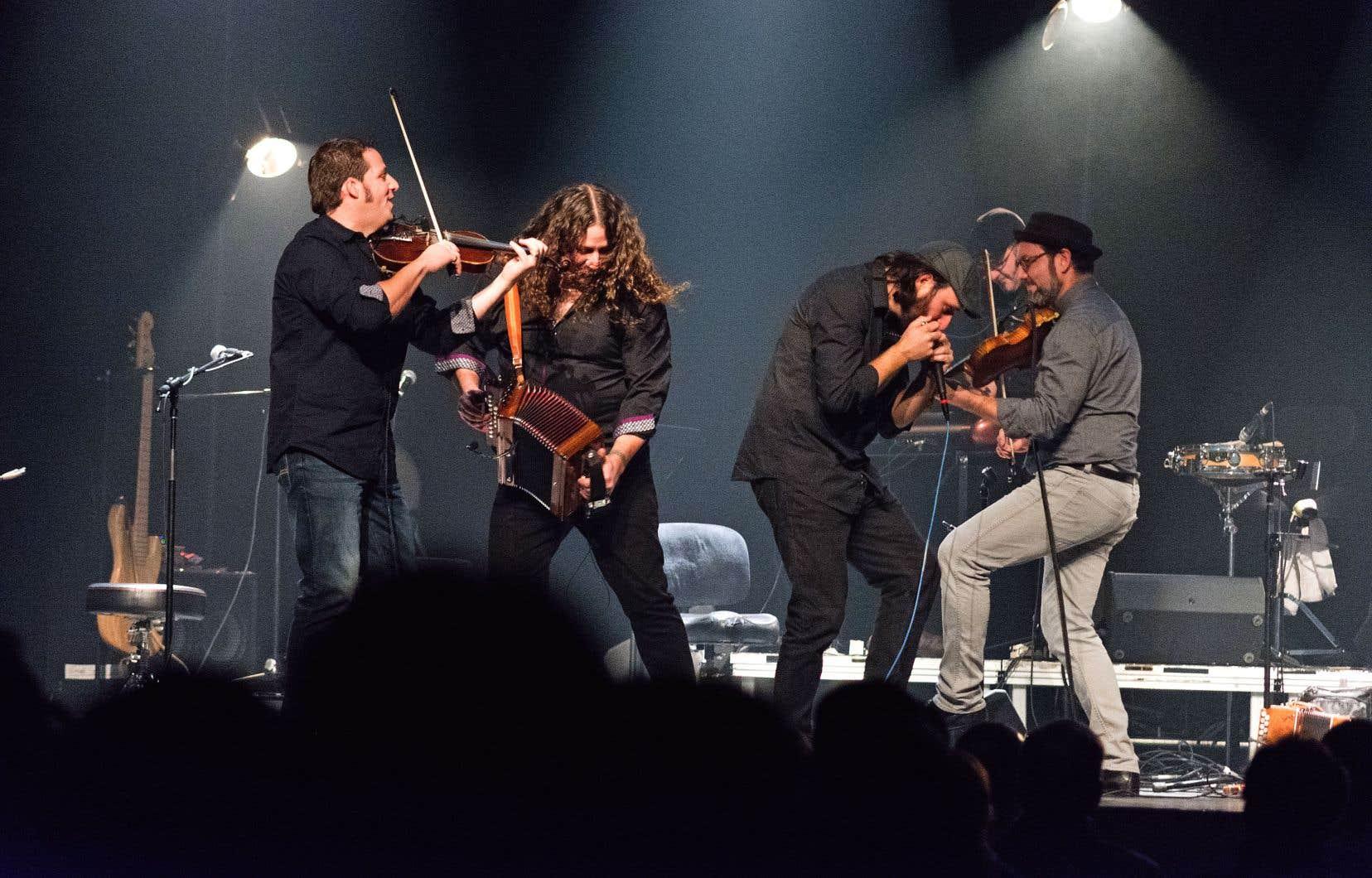 Après le temps des Fêtes, le quatuor Le Vent du Nord deviendra un quintette.