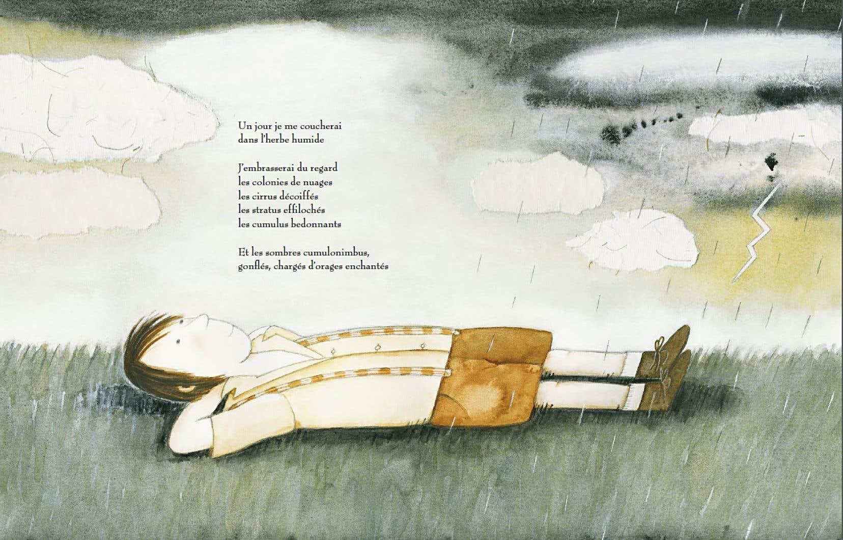 Dans «Un jour je bercerai la terre», Mireille Levert assume cette poésie qui sommeillait depuis longtemps dans ses précédentes publications.