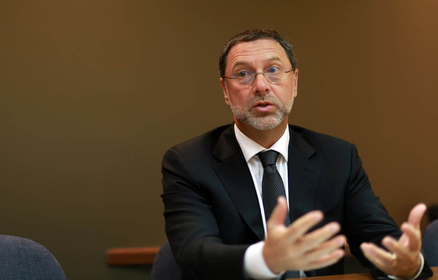 Yves-Thomas Dorval, président du CPQ