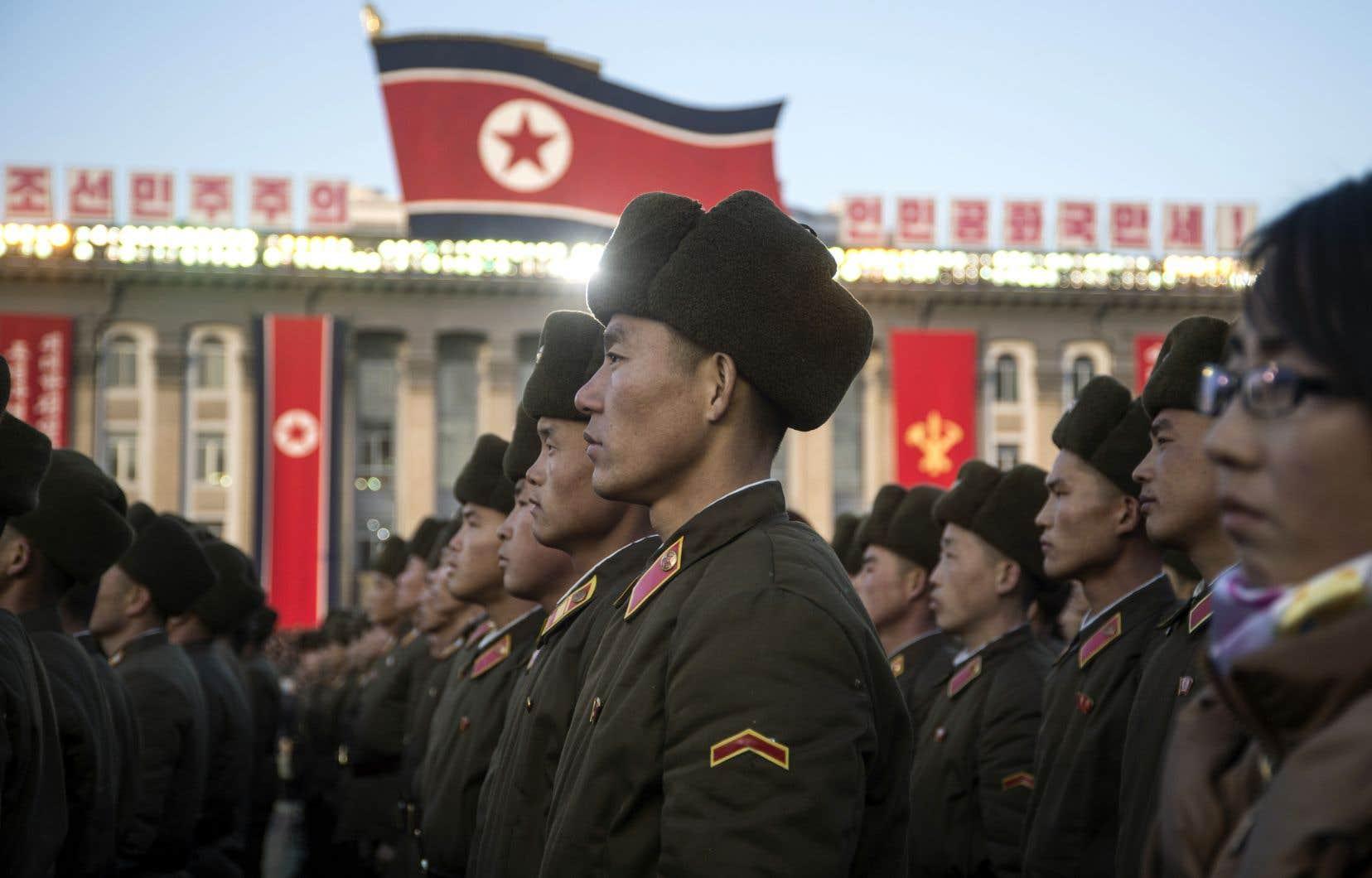Les tensions entre la Corée du Nord et les États-Unis ont atteint un niveau supérieur la semaine passée.