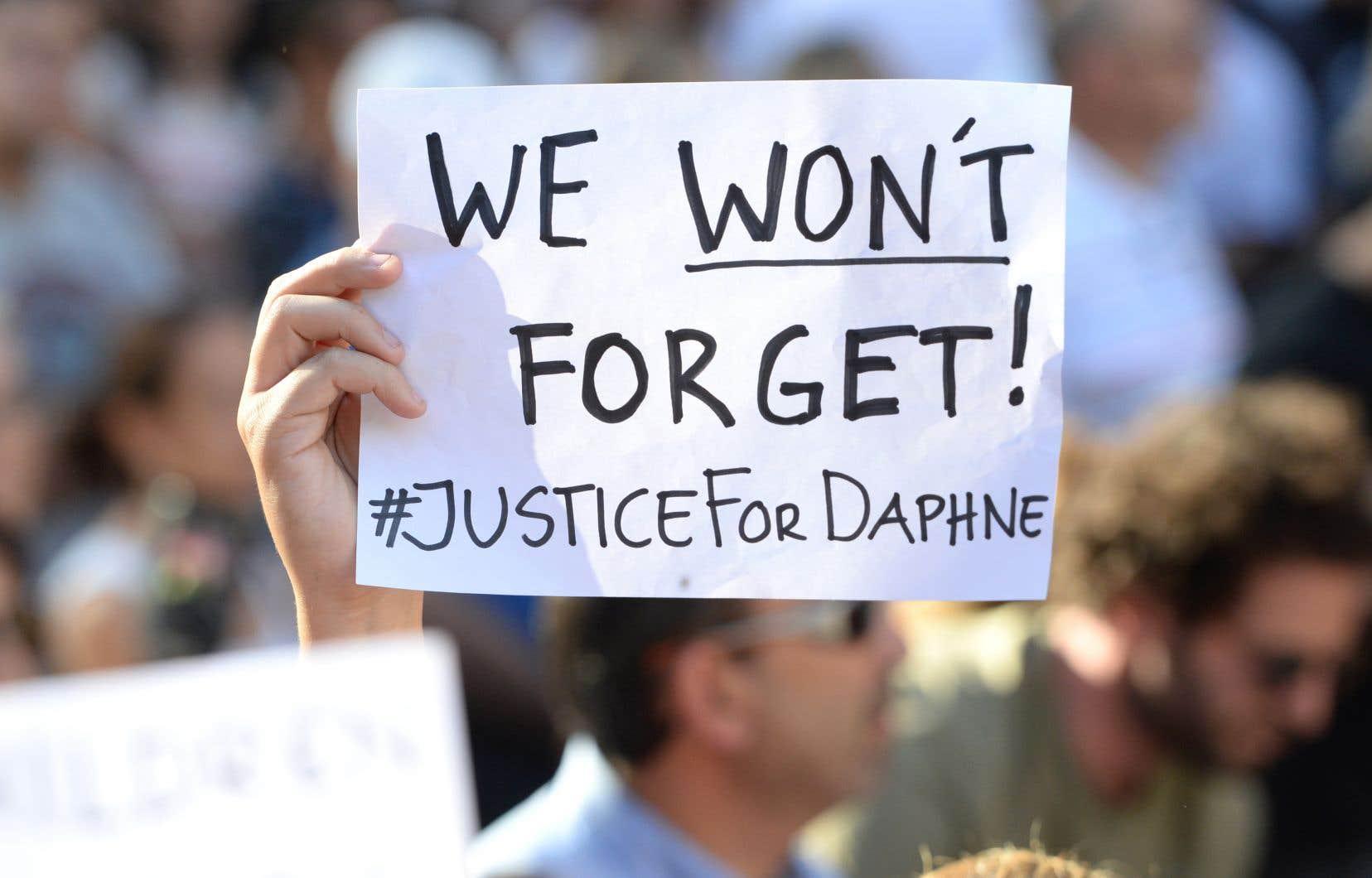 À Malte, les manifestations se sont succédé ces dernières semaines pour exprimer la méfiance envers les responsables judiciaires et policiers.