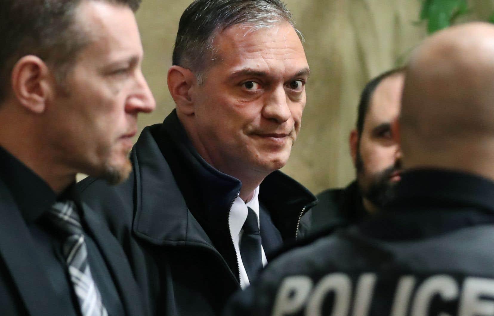 Le directeur du SPVM, Philippe Pichet, a été suspendu de ses fonctions mercredi.