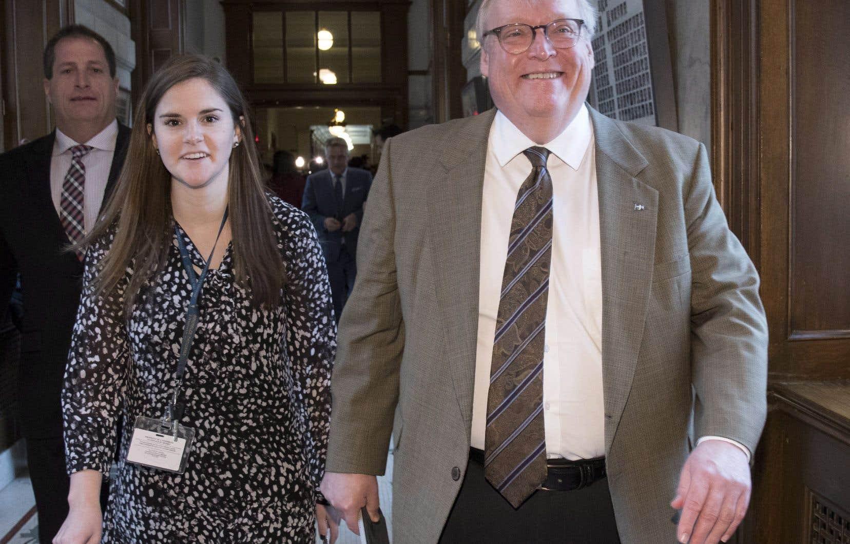 Le ministre de la Santé Gaétan Barrette a attesté jeudi n'avoir «jamais intimidé personne».