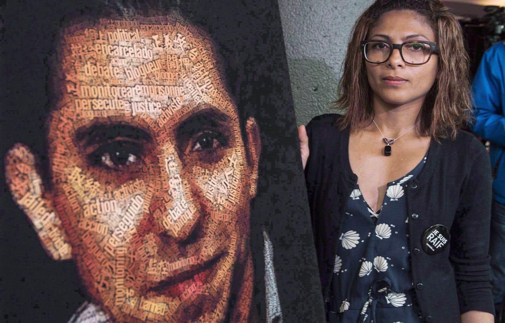 Ensaf Haider a été informée il y a deux semaines que son mari Raïf Badawi pourrait obtenir le pardon royal.