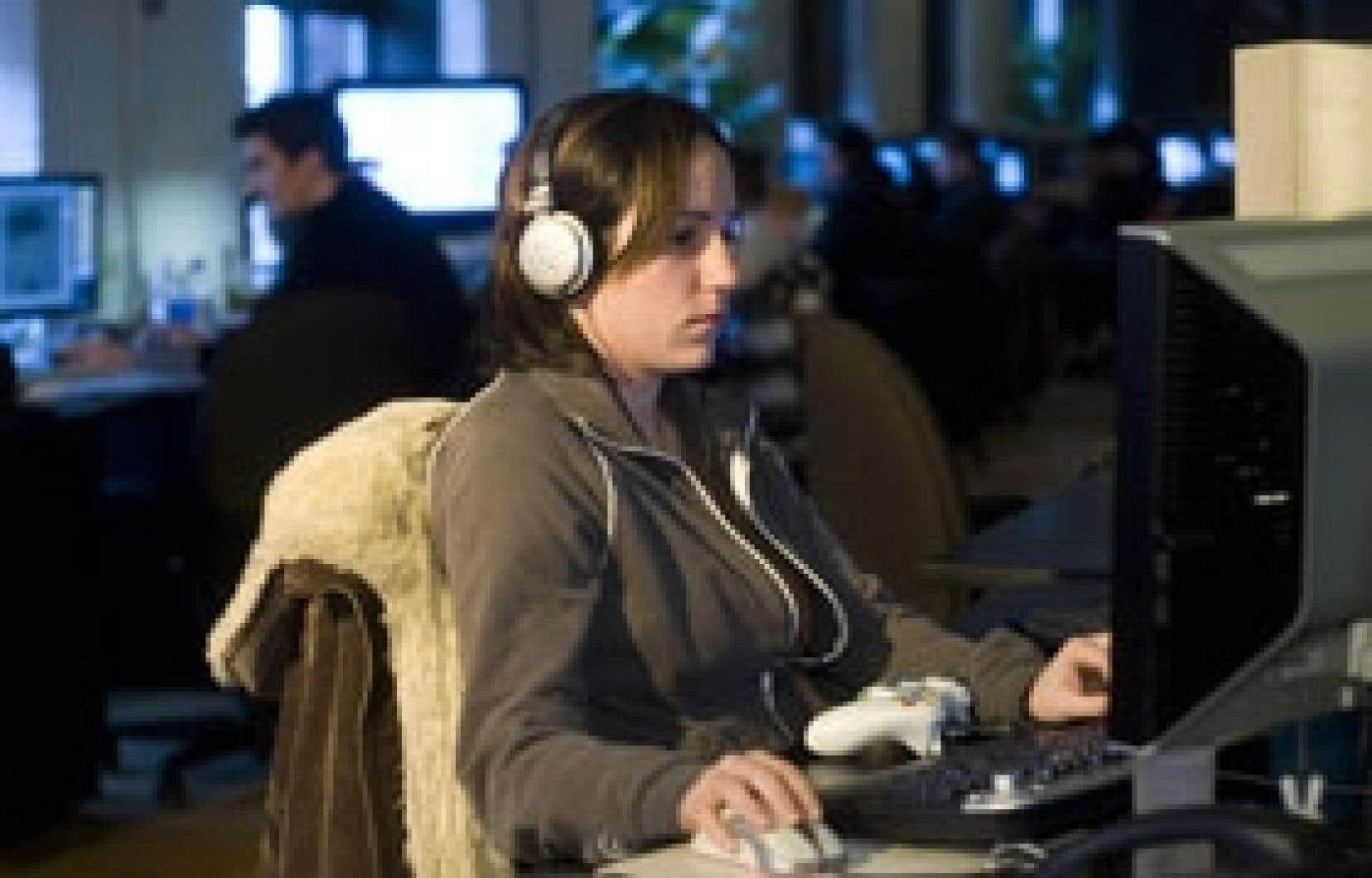 C'est à Montréal que l'on retrouve le plus grand nombre d'emplois reliés à l'industrie du jeu vidéo qui compterait plus de 5300 emplois directs au Québec, et 14 000 dans l'ensemble du Canada. Sur cette photo prise il y a un an, Valérie S