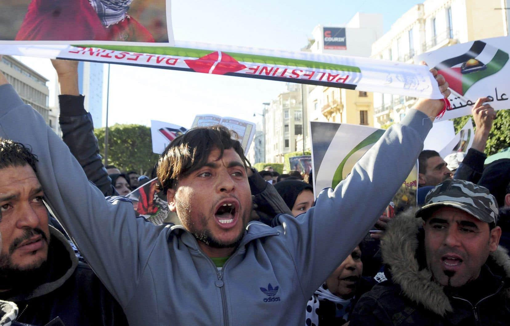 Les Palestiniens ont été appelés à Jérusalem, en Cisjordanie occupée et dans la bande de Gaza à un «jour de rage».