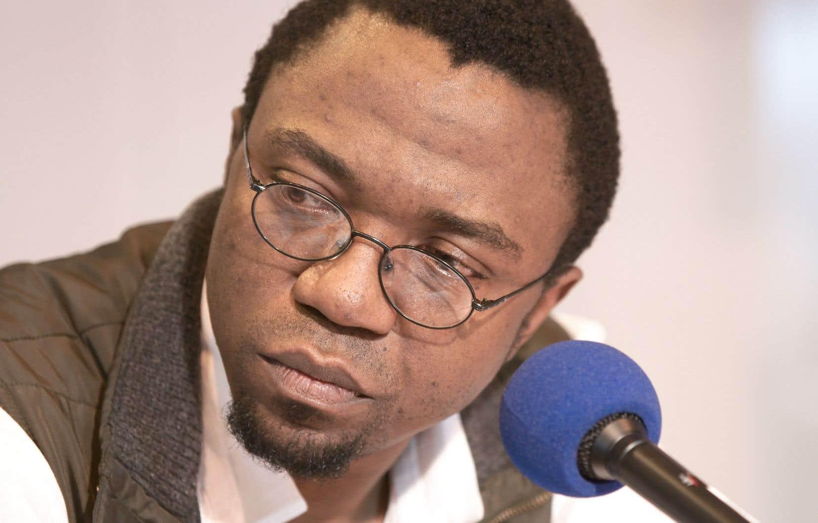 L'auteur camerounais Patrice Nganang