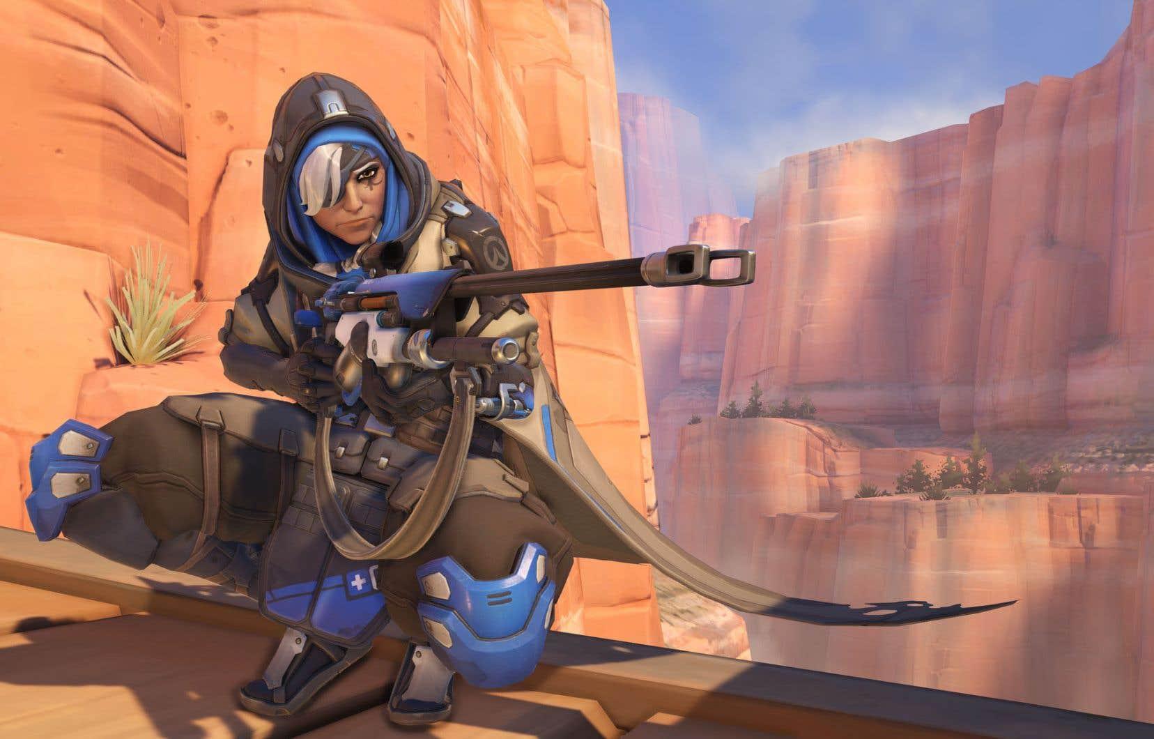 Au sein de l'industrie du jeu vidéo, la plupart s'entendent pour dire que le jeu «Overwatch», qui met en scène une guerrière portant un voile sous son armure, fait figure d'exemple à suivre.