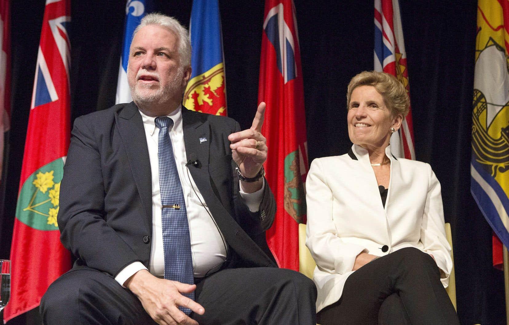 La première ministre ontarienne, Kathleen Wynne, a déclaré mardi que son gouvernement n'avait pas le projet de taxer Netflix.