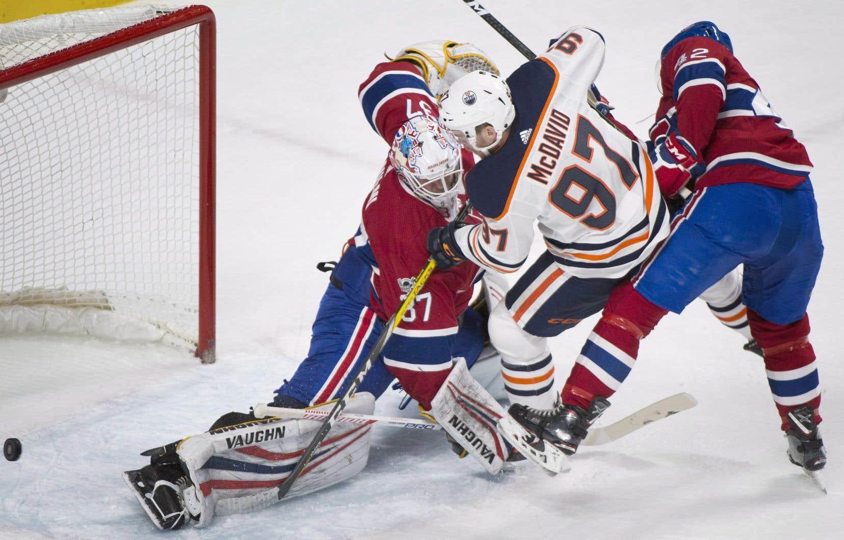 Le Canadien s'est incliné 6-2 contre les Oilers, samedi dernier, au Centre Bell.