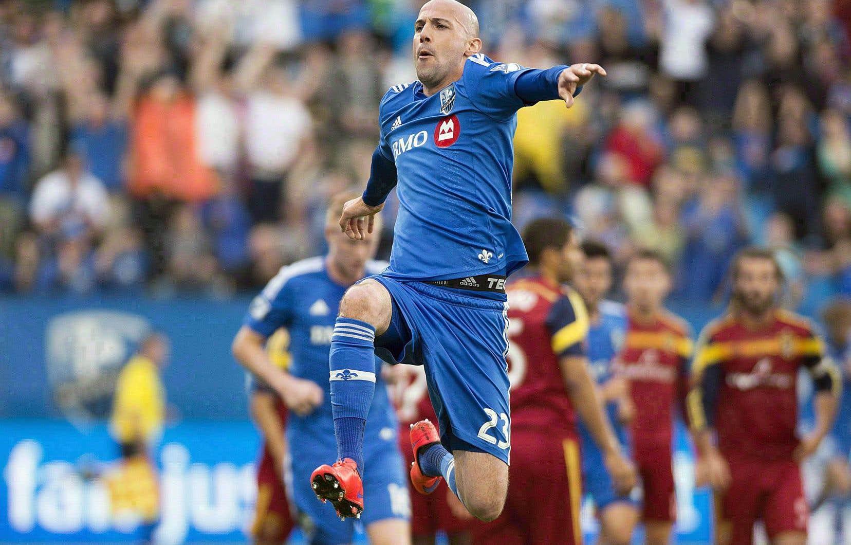 Le défenseur belge Laurent Ciman a disputé 85 matchs en 3 saisons avec l'Impact.