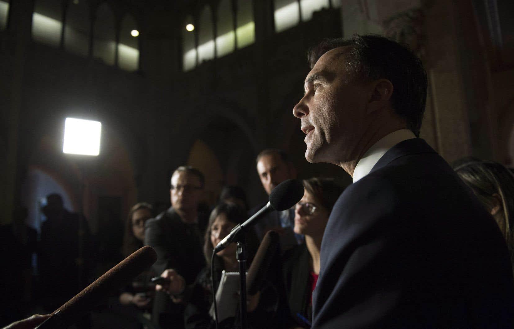 Le ministre fédéral des Finances, Bill Morneau, a multiplié les reculs depuis la période de consultation entourant sa réforme fiscale.