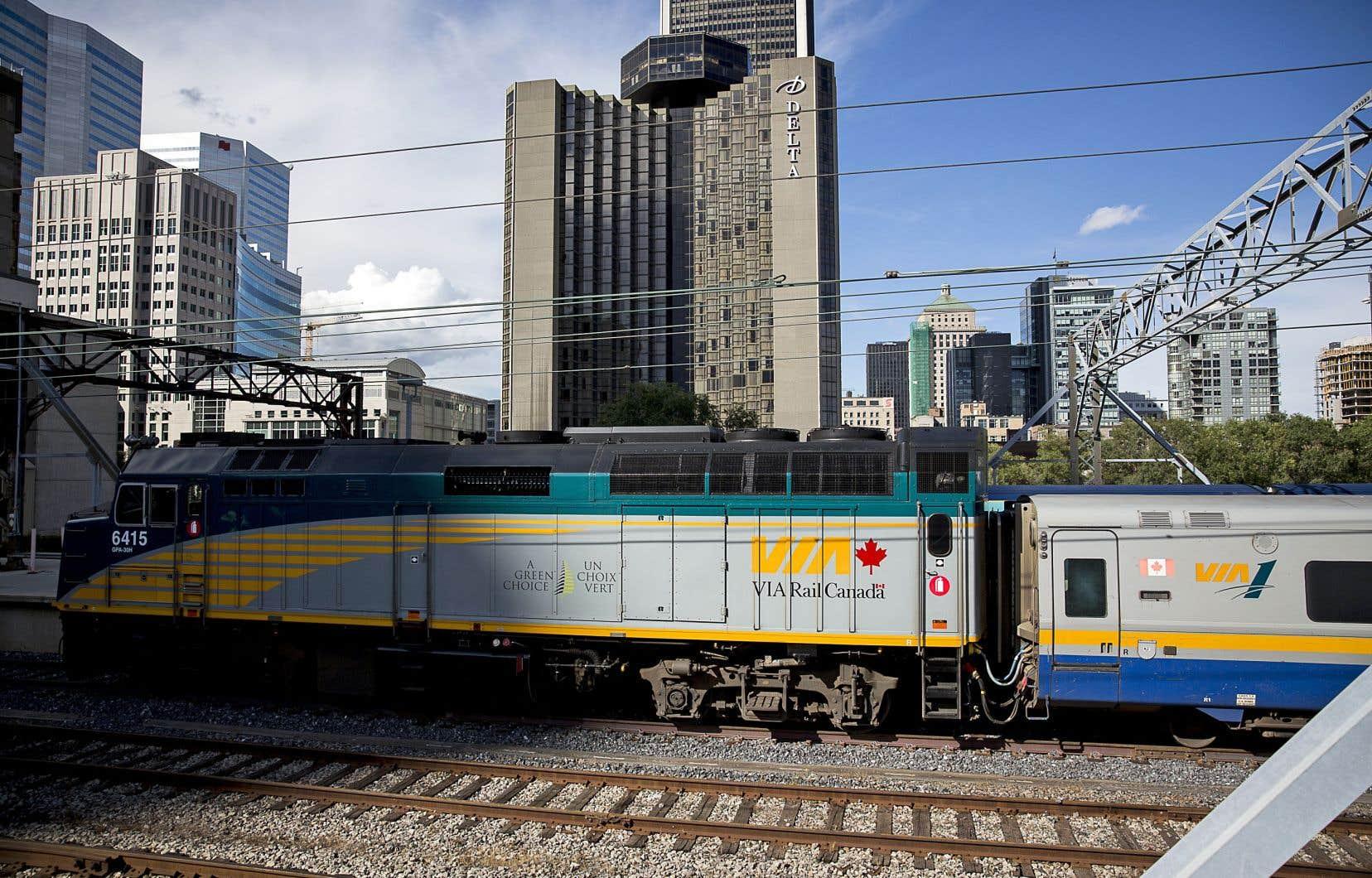 Le dernier budget fédéral, déposé en mars, prévoyait des fonds destinés à l'étude d'un TGF (train à grande fréquence) dans le corridor Windsor-Québec.