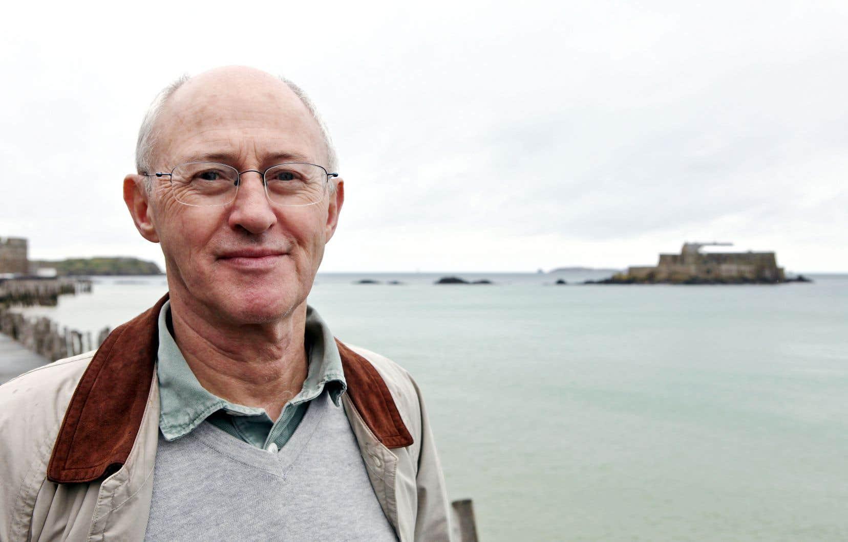 L'auteur Eugène Nicole à Saint-Malo
