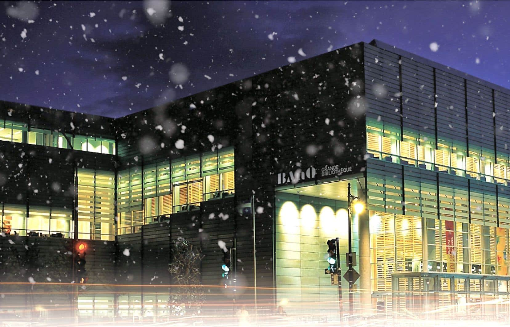 L'Auditorium de la Grande Bibliothèque sera le siège de deux spectacles pour les enfants durant le mois de décembre.