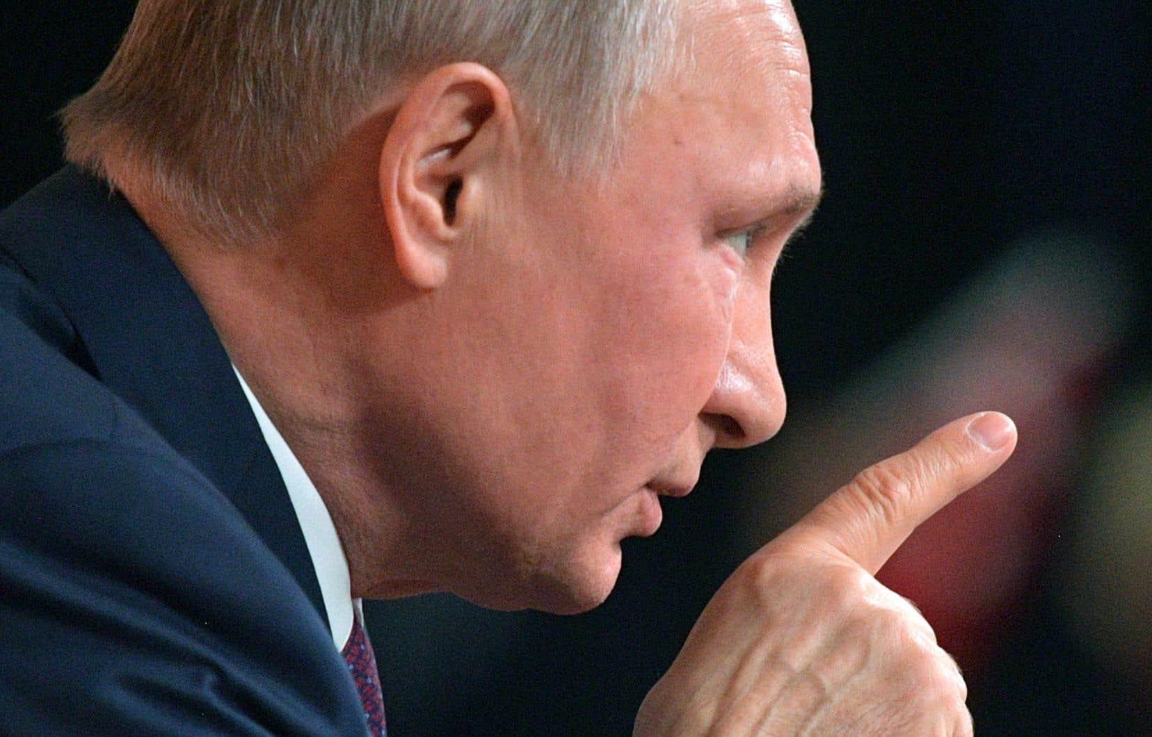 Le président russe, Vladimir Poutine, nie toujours que que son pays a été impliqué dans un système de dopage institutionnalisé.