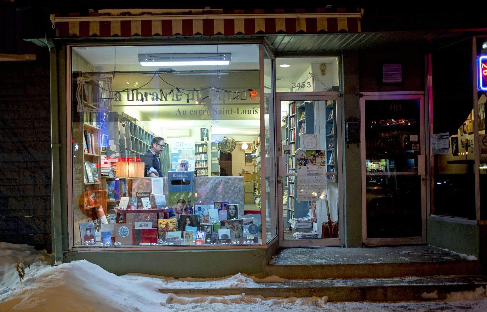 Les ventes en librairie seraient aussi en légère hausse, selon l'Institut de la statistique du Québec.