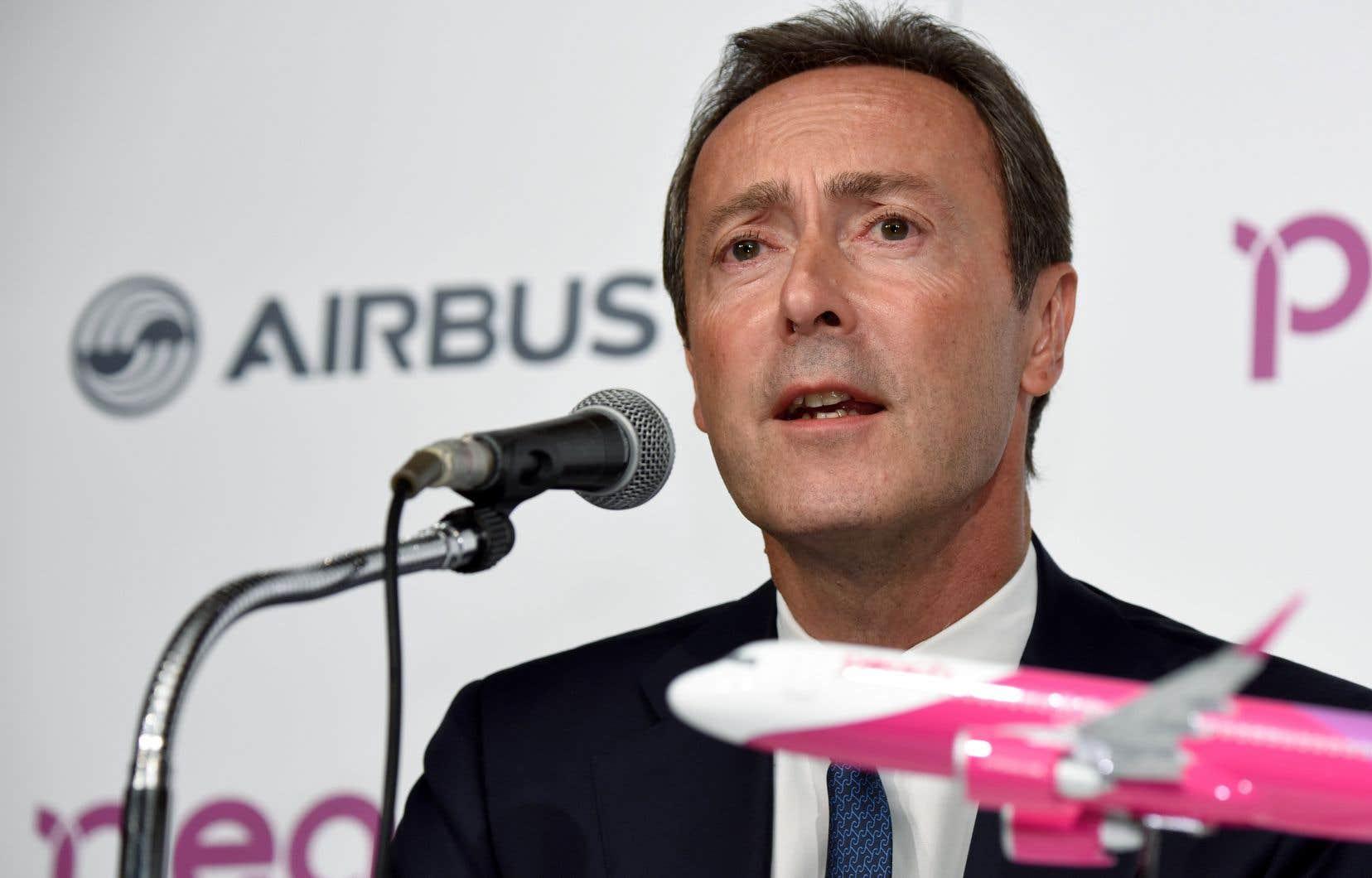 Lenuméro deux d'Airbus, Fabrice Brégier