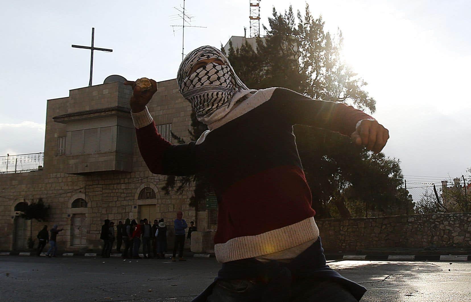 Samedi, de nouvelles manifestations ont eu lieu à Bethléem et à Ramallah en Cisjordanie.