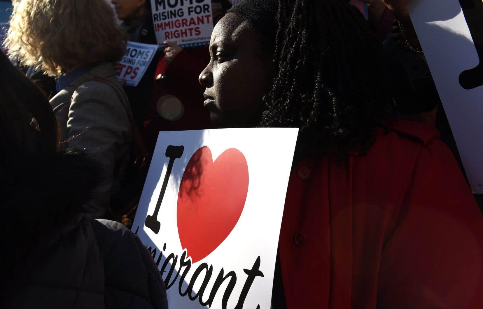 En novembre, le gouvernement Trump a mis fin au programme de résidence temporaire de 58000 Haïtiens.